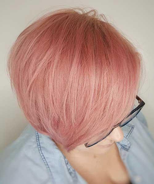Short Pink Hair 2017 - 8