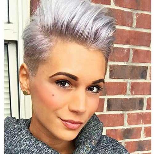 Short Silver Hair 2017 - 8