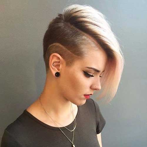 Cool Short Hairstyles for Girls - 9