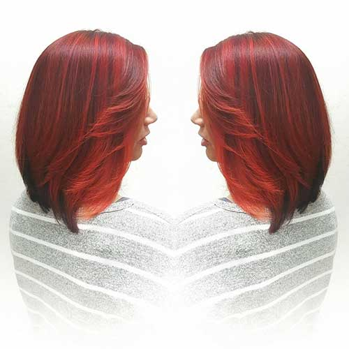 Gorgeous Red Short Haircuts - 9