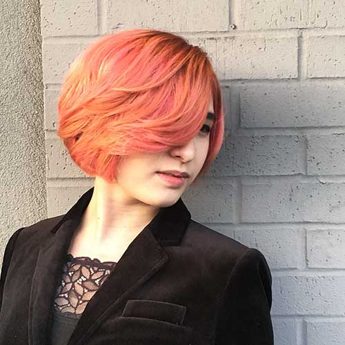 New Short Hair Color - 9