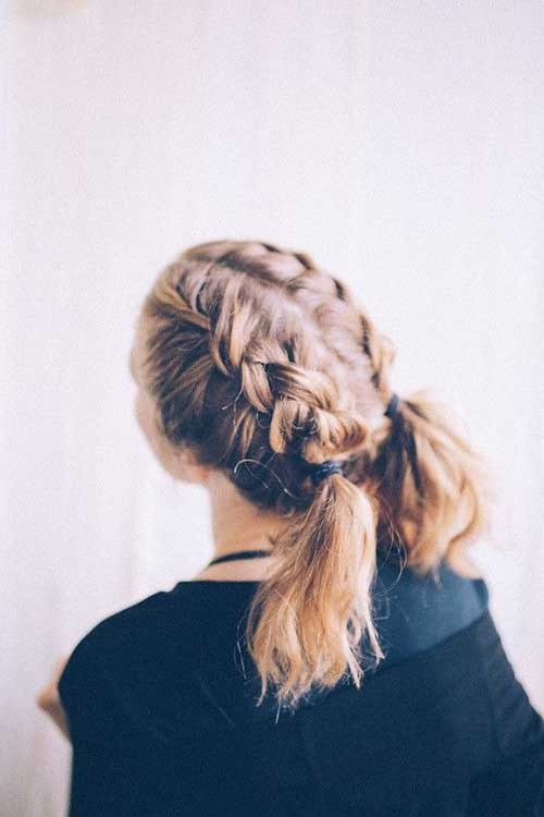 Nice Braids for Short Hair - 9