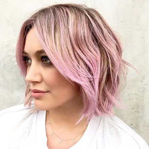 Short Hair Color