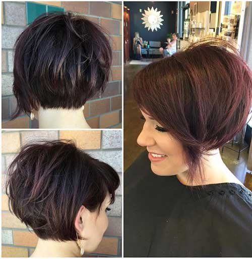 Unique Short Hairstyles For Thick Haired Ladies Short