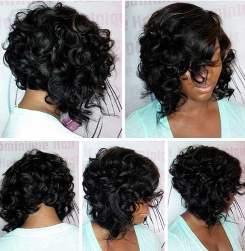 Dark Short Hair Colors-12