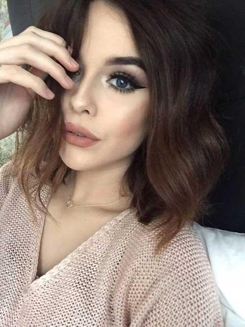 Dark Short Hair Colors-13