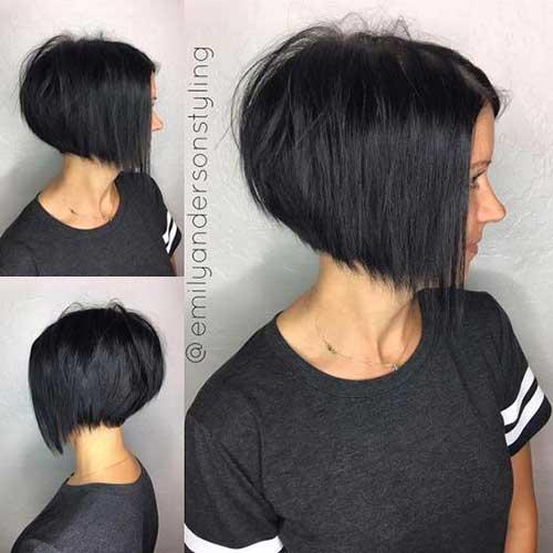 2017 Dark Short Hair