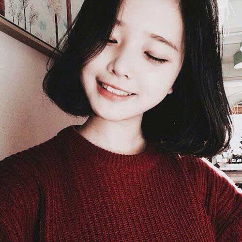 Dark Short Hair Colors-9