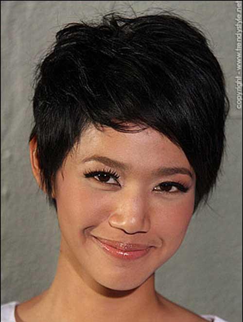 Dark Short Haircuts