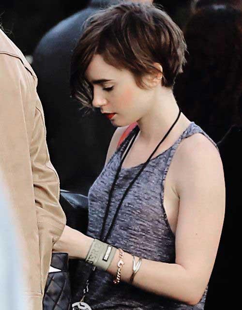 Dark Short Hairstyles