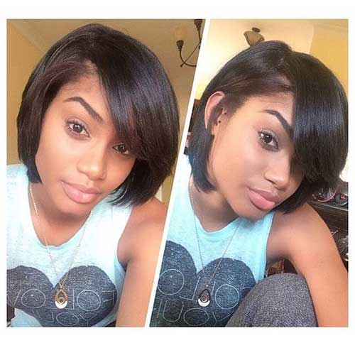 Short Hairstyles for Black Women-12