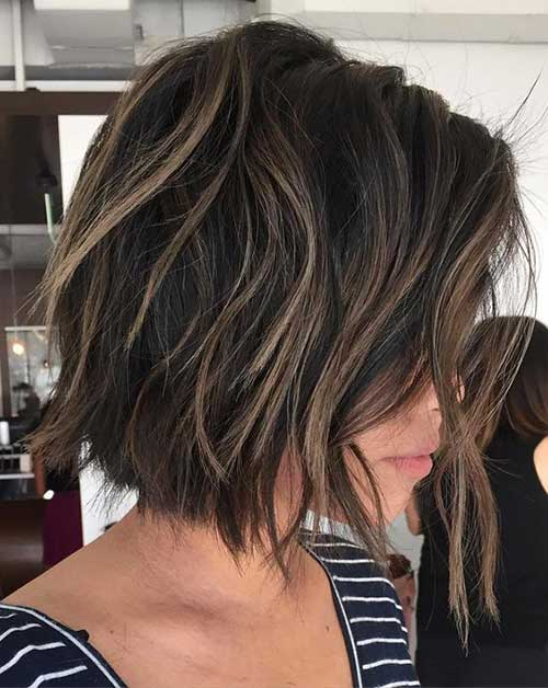 Short Hairstyles for Thick Hair-14