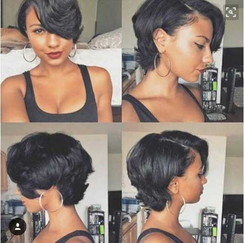 Short Hairstyles for Black Women-7