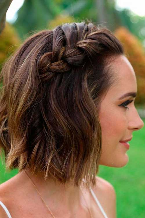 Best Short Hair Updos