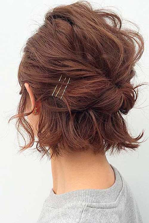 Short Haircut Updos
