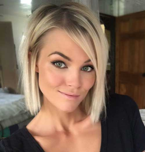 Alluring Short Haircuts For Ladies With Straight Hair The Best Short Hairstyles For Women 2017