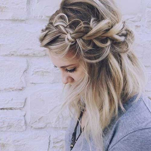 Braided Short Hairstyles-12