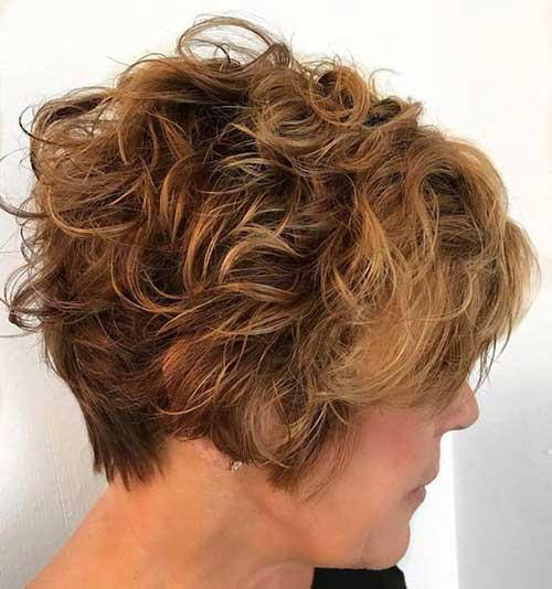 Short Curly Hairstyles-19