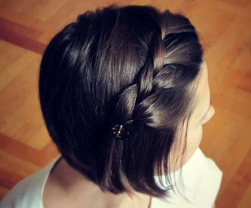 Braided Short Hairstyles-6