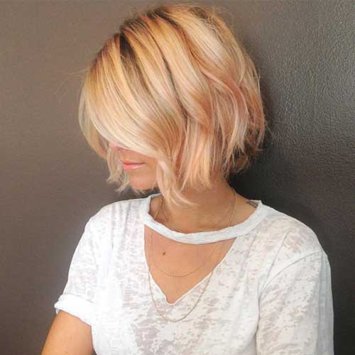 Short Layered Haircuts-6