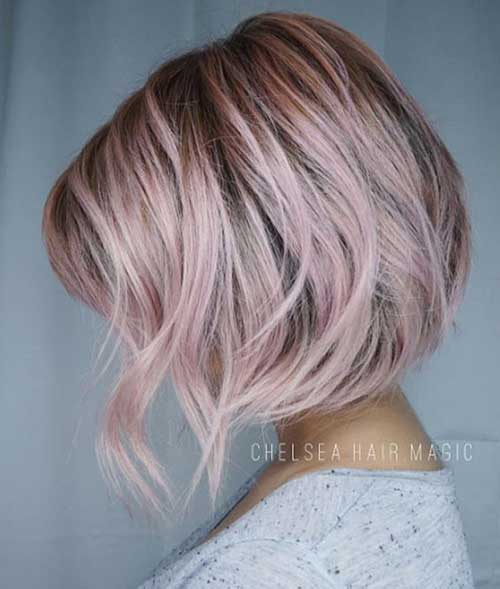 Pink Short Hairstyles-10