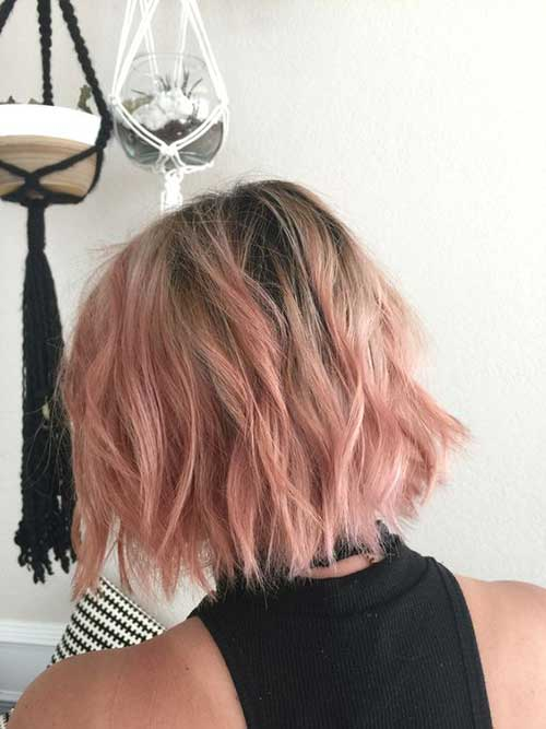 Pink Short Hairstyles-7
