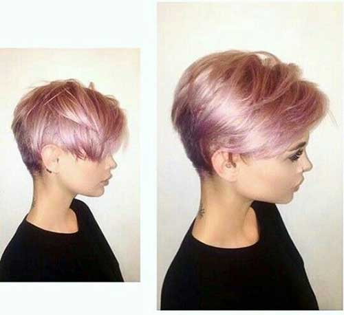 Pink Short Hairstyles-9