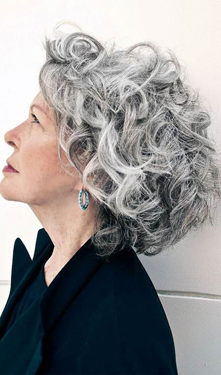 Short Curly Hairstyles for Women Over 50 Hair, Curly