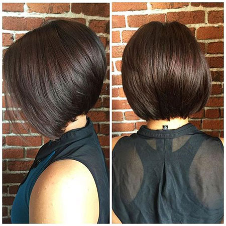 Stacked Bob Hairstyles, Bob, Stacked, Fine, Bobs