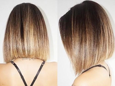 Straight Bob Hairstyles Straight Bob Hairstyle, Highlights, Bob