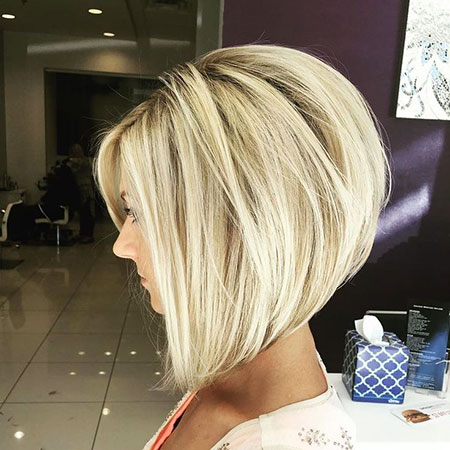 Blonde Hair, Bob, Blonde, Inverted, Bobs