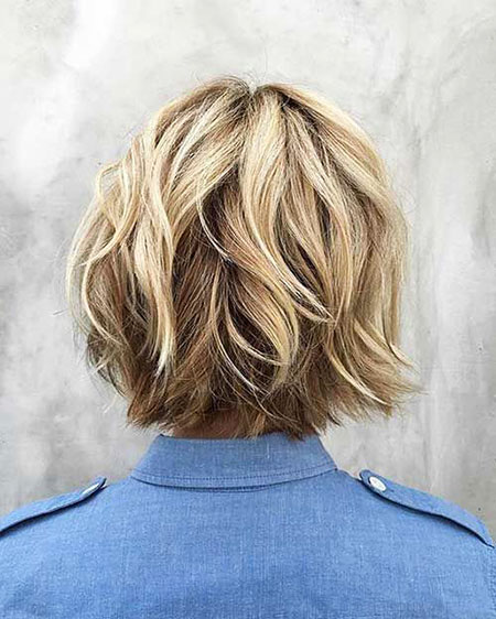 Shag Hair, Bob, Blonde, Balayage, Women