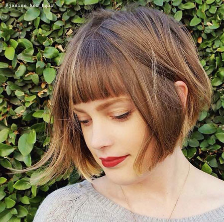 Cute Hair, Bob, Bangs, Wavy, Waves