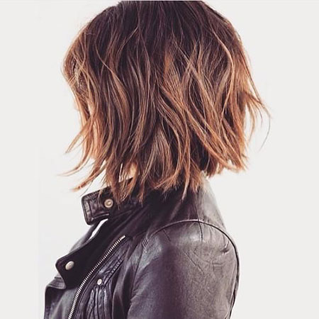 Casual Hair, Bob, Messy, Women, Wavy