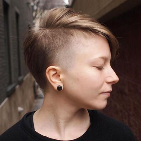 Undercut Hair, Under, Pixie, Fine, Women