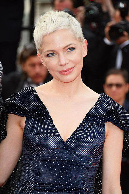Michelle Williams, Michelle, Williams, Pixie, Cannes