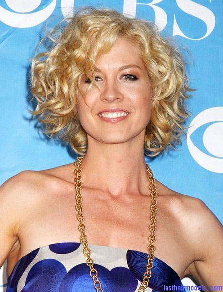 Jenna Elfman Hair, Curly, Jenna, Messy, Elfman