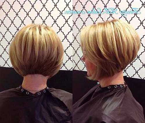 Back View of Bob Hairstyles-10