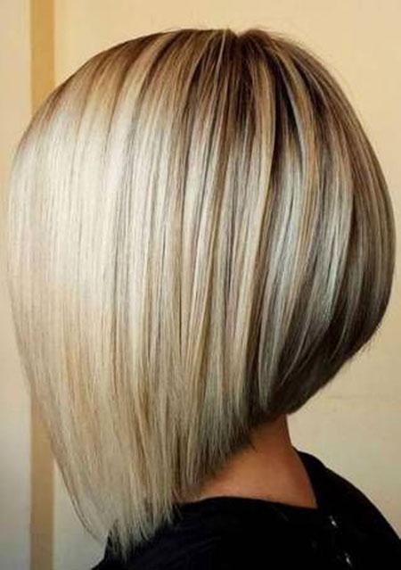 Blonde Bob, Blonde, Bob, Highlights, Trendy