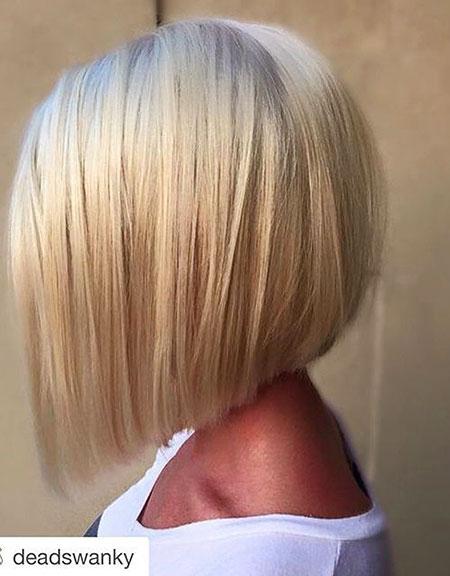 Blonde A Line Bob, Bob, Line, Eye, Blonde