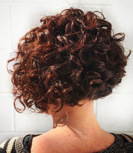 Brown Pin , Curly, Bob, Brunette, Women