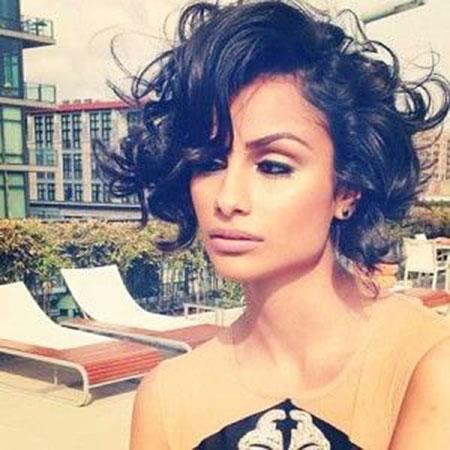 Sexy Hair, Curly, Ricci, Dark, Curls