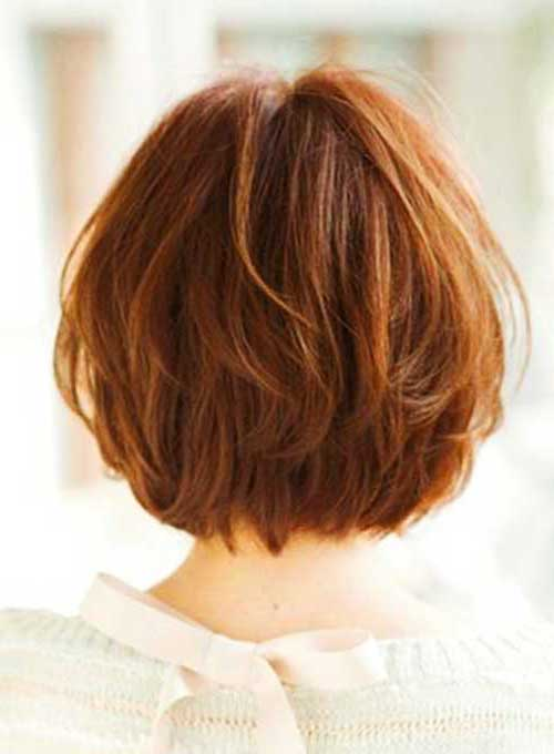 Short Layered Bob Cuts-12