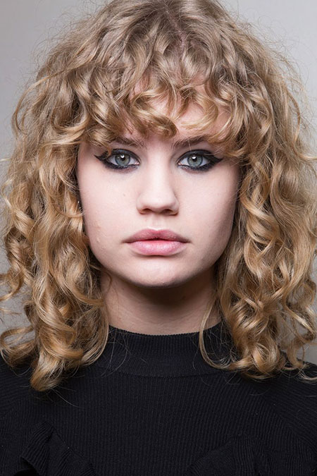 Short Hair, Curly, Up, Trends, Plus