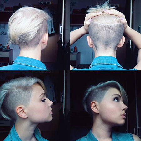 Blonde Hair, Pixie, Kapsels, Under, Sides