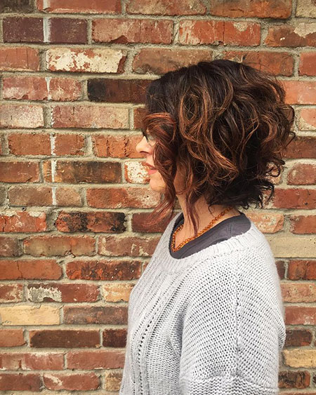 Cute Hair, Curly, Bob, Red, Longer