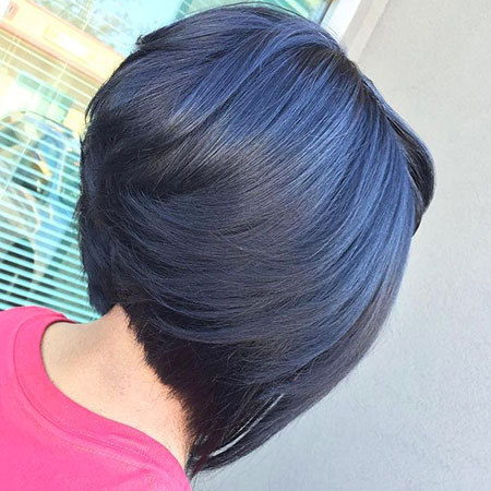 Cute Hair, Rollsup, Bob, Trend, Stacked