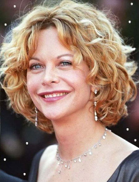 Meg Ryan Hair, Curly, Ryan, Over, Meg