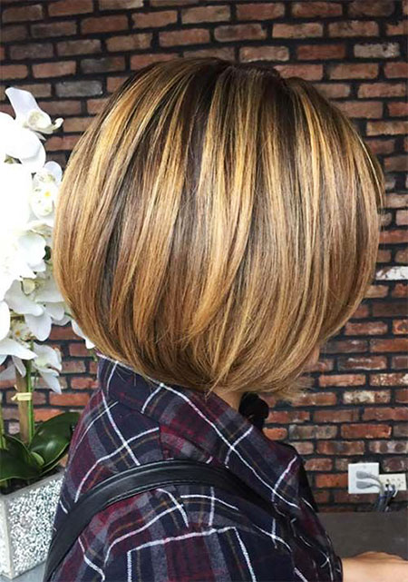 Blonde Highlights, Bob, Women, Highlights, Under