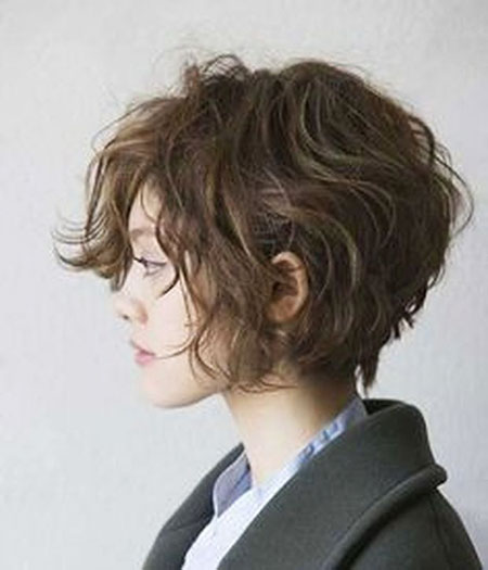 Asian Hair, Bob, Straight, Pixie, Messy